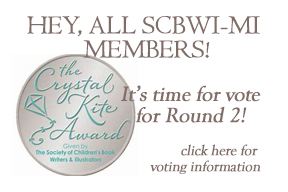 "How do I vote in the Crystal Kite Awards? When voting begins there will be a link to vote from your ""My Home"" page. Please note that you must be logged in to vote. You can only vote for the titles in YOUR Division. You can only vote ONCE in each round. To cast your vote: log on to www.scbwi.org. Once you are on your Member Home page, go to the left navigation bar, scroll to the bottom and click on Vote in the Crystal Kite Awards. That takes you right to the voting page where all of the books in your Division appear. Then click the VOTE FOR THIS BOOK button below your chosen book and you are done!"