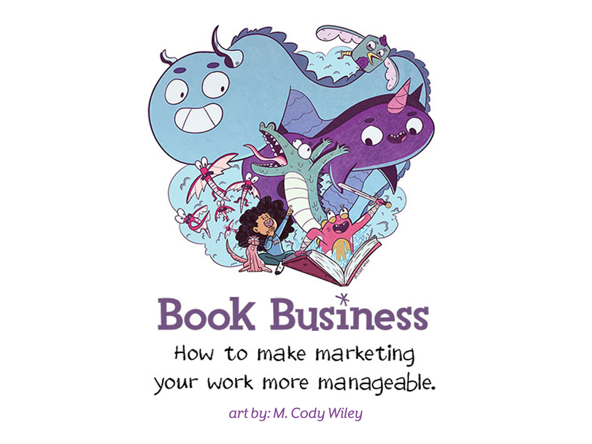 Whether you are an established author/illustrator or you're releasing your debut book, marketing is essential to your books' success. This reference was designed for SCBWI members only to provide you with information on how and where you can market your work.   Click here to access our members-only book promotion page. Click here to access a list of indie bookstores in Michigan. Please frequent these great venues often.   Good luck and know that we are very proud of YOU! Slider art credit: M. Cody Wiley