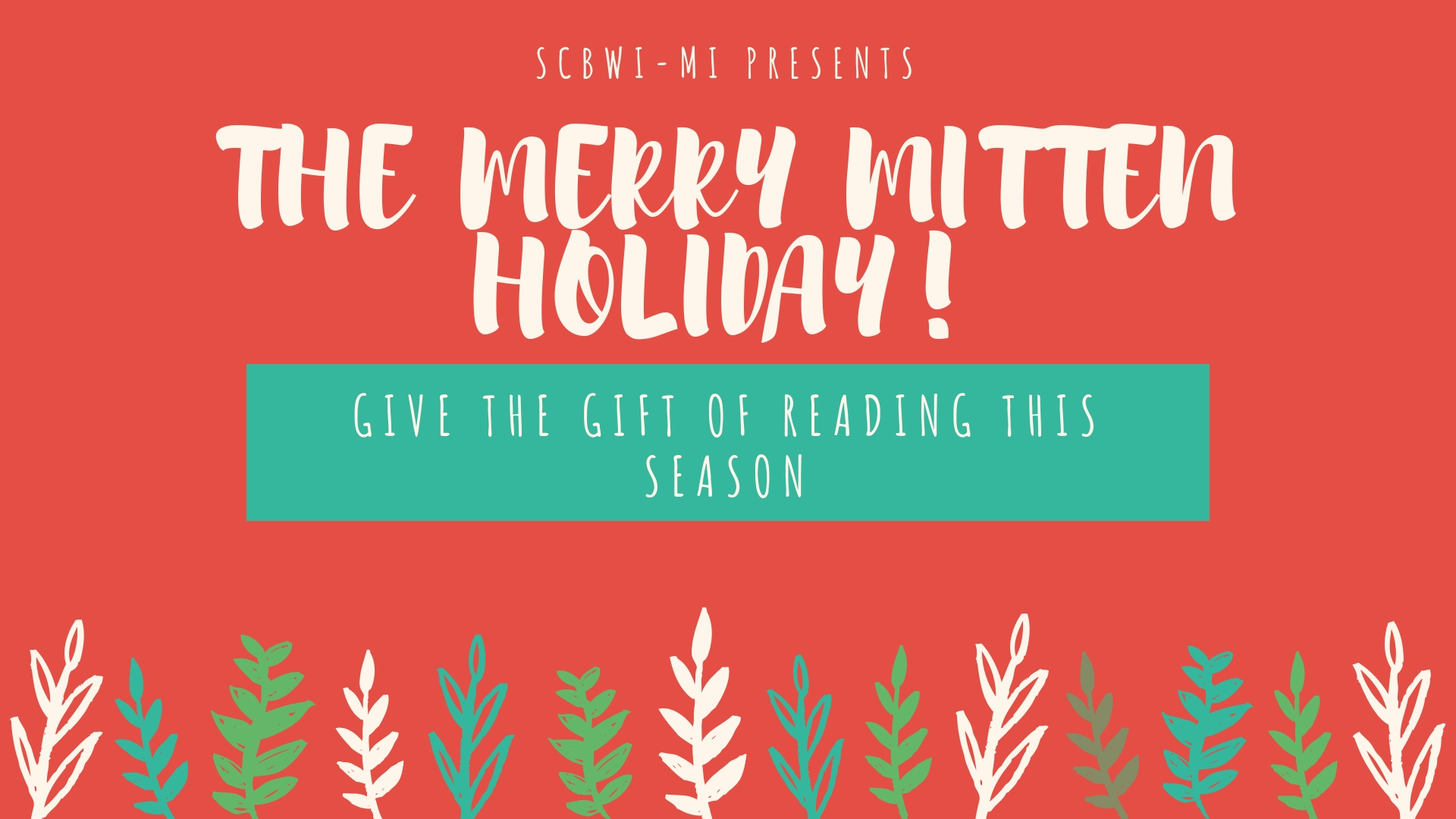 It's time for our 3rd annual Merry Mitten Holiday! What better gift to give than a book from a local author or illustrator? We are proud to work with some of our favorite independent book stores again this year and hope to support them with these events as much as they support us all year round. So, bring the family out to any of these events and pick up a signed book or two! November 10th from 12:00-3:00 at Kazoo Books: Meet Leslie Helakoski and Buffy Silverman. December 1st from 1:00-3:00 at Nicola's: Meet Lisa Wheeler, Maria Dismondy, Lisa Rose, and Supriya Kelkar. December 2nd from 12:00-5:00 at Bookbeat (as part of their GESU fundraiser): Meet Herbert Wong Lee, Patrick Flores-Scott, Gin Price, Jodi McKay, Kristin Lenz, and Jean Alicia Elster. December 8th from 12:00-1:30 at Pages: Meet Janet Ruth Heller and Jodi McKay Hope to see you there!