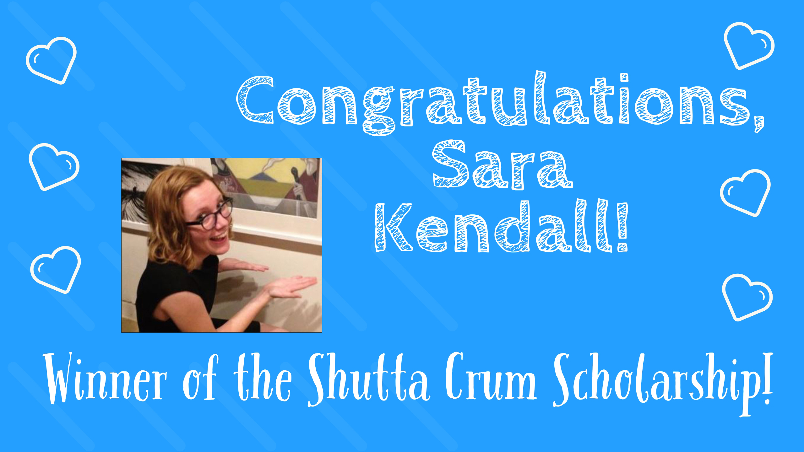 The SCBWI-MI chapter extends HUGE congratulations to illustrator Sara Kendall for winning the highly coveted Shutta Crum Scholarship, granting her the privilege of attending the big LAconferencein July 2020! Individuals who have been SCBWI-MI members for three years or more and have not attended the international SCBWI conference are eligible. Recently, Sara shared her incredible talent with our community as the illustrator who created the lovely logo for our Pokagon retreat, as featured below. Find out more about our talented winner by accessing her website athttp://www.sarakendall.net/ And, thank you, once again, Shutta, for making another deserving SCBWI-MI member's dreams come true!