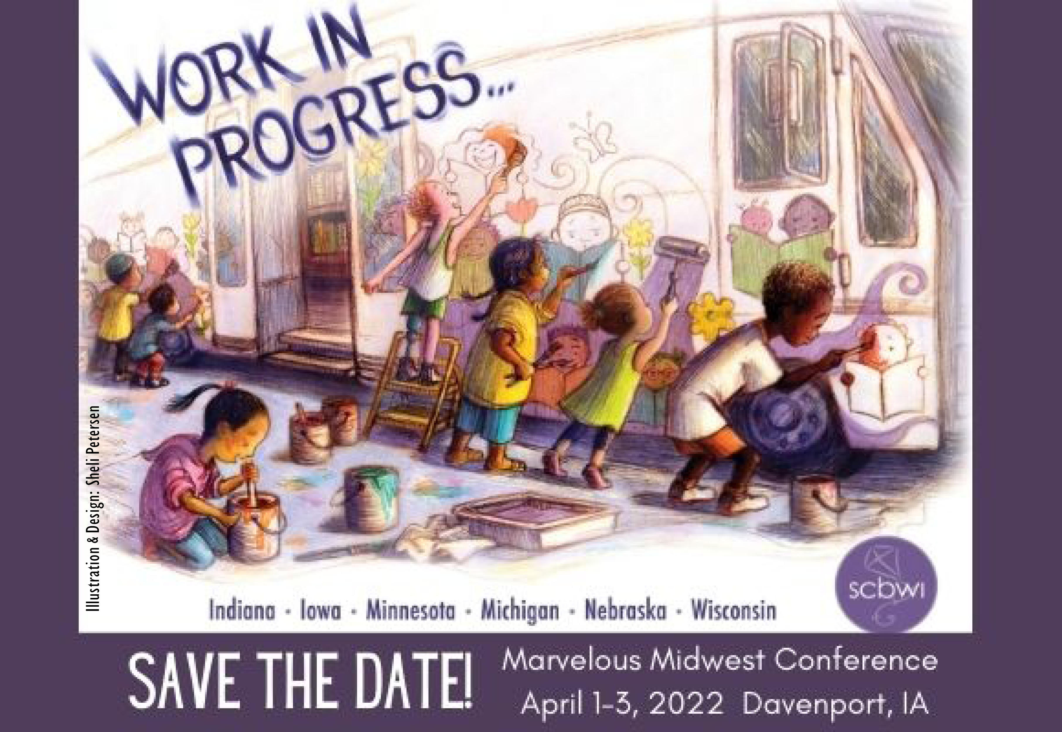 This multi-region conference is designed to give you a large SCBWI NYC or LA conference experience closer to home. Featuring over 35 faculty members sharing content for writers and illustrators that will move your Work In Progress and your career forward. Make industry connections. Get a portfolio review or critique. Have access to acquiring editors, agents, and art directors. Find your people and make lasting relationships. Start your planning now to join in! Much more information to come. Stay tuned.