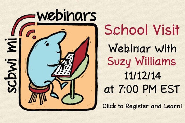 The best school visits are age appropriate, energetic, engage the students, and add value to the school's curriculum. How do you design amazing presentations? Gain confidence in your performance, teaching, and negotiations? How do you get schools (or more schools) to hire you? Author, former teacher, and school presenter, Suzanne Morgan Williams, uses handouts, exercises, and the online presentation to help you plan programs based on your strengths, your books, and students' needs. She'll share her best tips for connecting with schools and negotiating fair deals. If you're serious about giving presentations that leave schools buzzing tune in for this one. The webinar will end with an optional online question and answer time.  Homework and supplemental information will be forwarded to participants as they register. A link to the online classroom will be provided 24 hours prior to the event.   Click HERE to register for So You're Not a Juggler: Planning Amazing School Visits with Suzanne Morgan Williams   Suzanne Morgan Williams is the author of the middle grade novel Bull Rider and eleven nonfiction books for children. Bull Rider is a Junior Library Guild Selection, is on state award lists in Texas, Nevada, Missouri, Wyoming, and Indiana, and won a Western Heritage Award from the National Cowboy Museum in Oklahoma City. Suzanne's nonfiction titles include Pinatas and Smiling Skeleton. The Inuit, Made in China, Nevada, and her latest book, China's Daughters.   Suzanne has presented to adult and children's audiences and taught writing workshops at dozens of schools, professional conferences, and literary events across the US and Canada. A former teacher, she has an M.Ed, teaching credentials, and a Montessori teacher certification. She's been commissioned to create teacher's guides for other writers as well as to write and support community cultural and literacy projects such as Nevada Hispanic Service's/Nevada Humanities' Great Latinos Biography Project. Visit www.suzannemorganwilliams.com